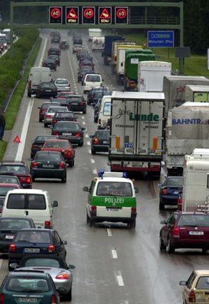 Am beliebtesten da, wo Autofahrer nicht sind: Stau