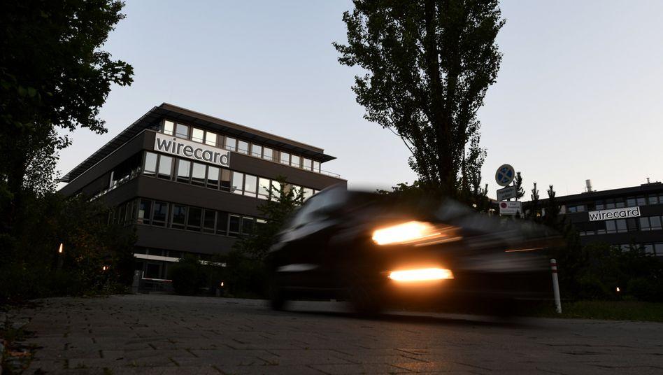 """Wirecard-Zentrale in Aschheim bei München: """"Eine Fortführung ist im besten Interesse der Gläubiger"""