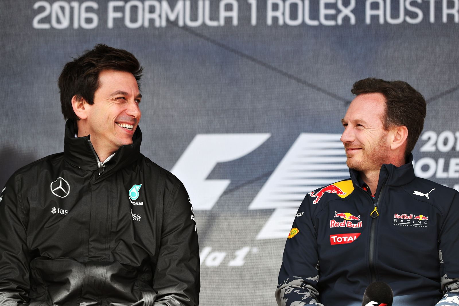 toto Wolff Christian Horner