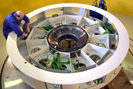 Spiegelteleskop der Carl Zeiss AG aus Jena