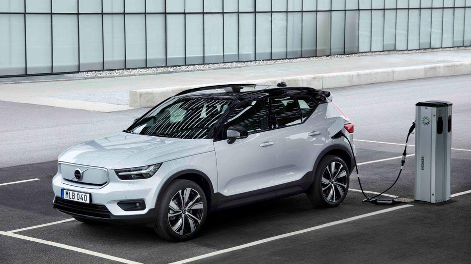 Pure Elektrizität: In die rein elektrische Version des XC40 will Volvo künftig Northvolt-Batterien einbauen