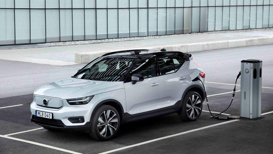 XC40 Recharge als Vorreiter: Der erste vollelektrische Volvo ist nur die Vorhut - bis Mitte des Jahrzehnts will die Marke insgesamt acht rein batterieelektrische Modelle bieten