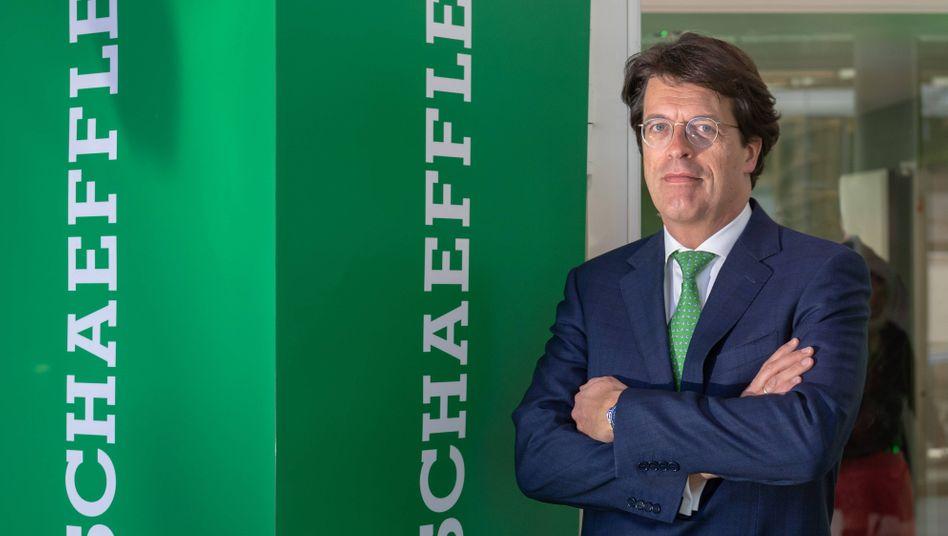 """Schaeffler-CEO Klaus Rosenfeld: """"Es ist Zeit zu handeln"""""""