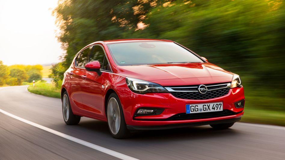 Im ersten Quartal war auch Opels Kompaktwagenmodell Astra kein großer Verkaufsschlager