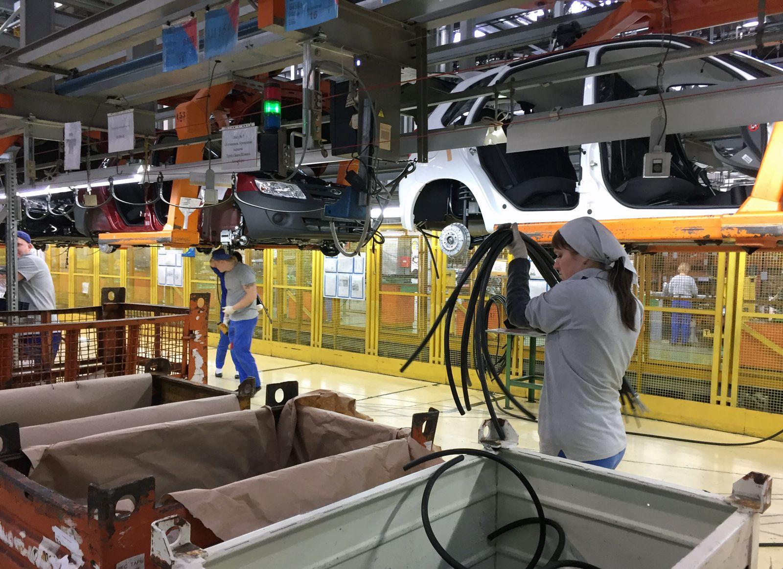 Lada Werk / Russland
