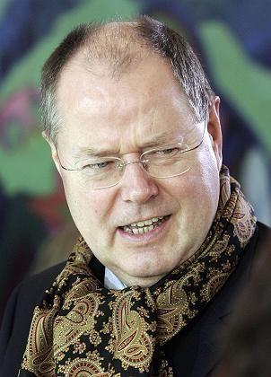 Bundesfinanzminister Steinbrück (SPD): Rüttgers Verhandlungspartner beim Bergbauausstieg