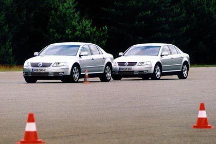 Doppeltes Lottchen: Kurze Verschnaufpause für Fahrer und Wagen