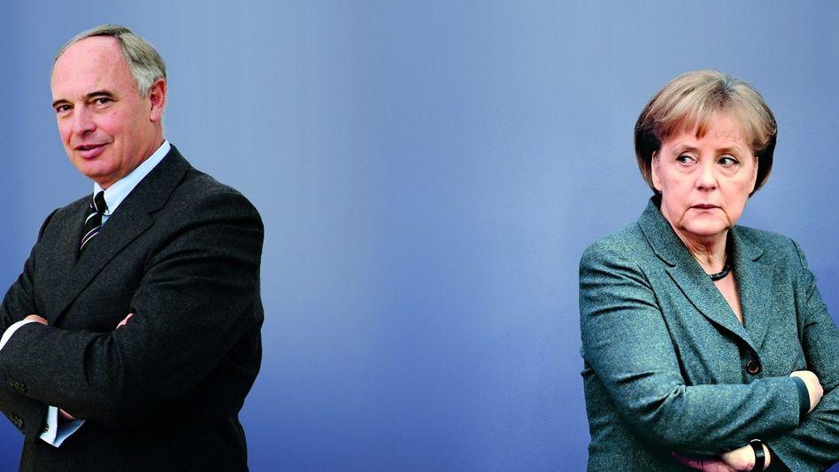 Enttäuschung Wirtschaftsgrößen wie BDI-Präsident Keitel erhofften sich mehr von Schwarz-Gelb Ungeduld Kanzlerin Merkel mag die Nörgeleien der Manager nicht mehr hören