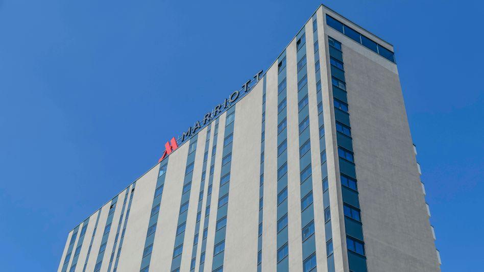 Leere Betten: Auch im Marriott Hotel in Bonn geht wegen Corona nichts mehr