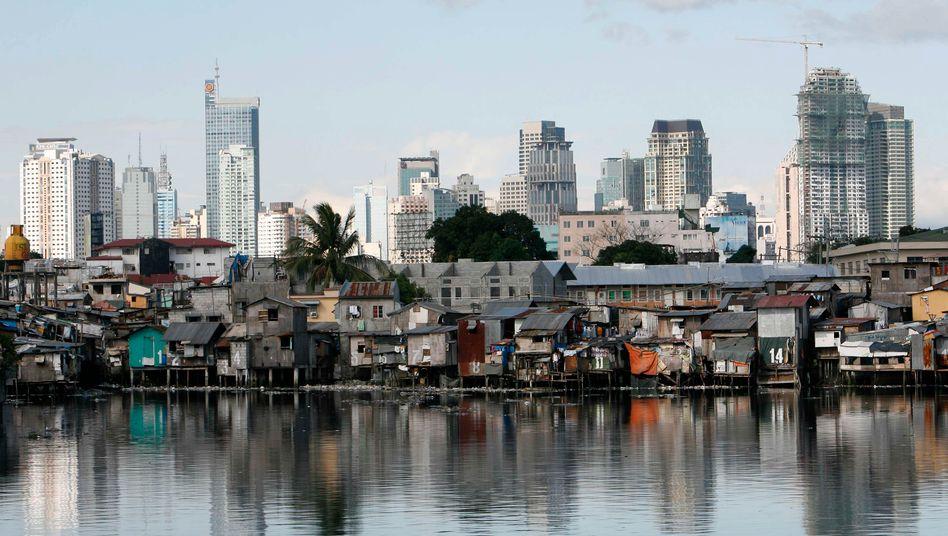 Blick auf das Finanzviertel von Manila: Wichtiger Kontaktmann von Jan Marsalek für tot erklärt