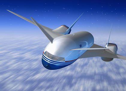 Ambitioniertes Überschall-Projekt wegen Kostenzwängen eingefroren: Virtuelles Modell des Boeing Sonic Cruiser