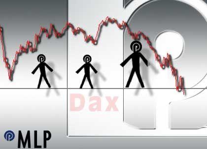 Auf der Kippe: Für MLP sind nach Ansicht des Arbeitskreises weder Beiersdorf noch T-Online geeignete Nachrücker