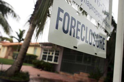 Bitteres Ende für Hausbesitzer, Chance für Kreditkäufer: Ein Haus in Miami wird zwangsversteigert