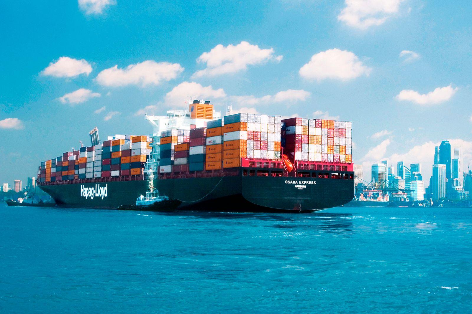 Deutschland / Export / Container / Freihandel