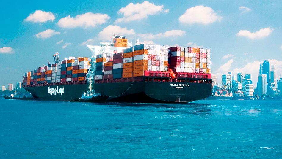 "Hapag-Lloyd-Containerschiff ""Osaka Express"""