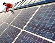 Energie aus Sonnenlicht: Der Solaranlagenhersteller Conergy wagt einen neuen IPO-Versuch