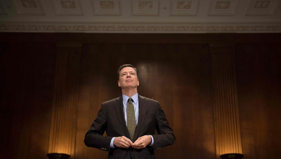 Ex-FBI-Direktor James Comey (Archivbild)
