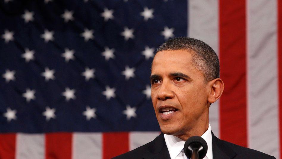 US-Präsident Barack Obama: Eine Millionärssteuer soll helfen, die geplanten zusätzlichen Haushaltsausgaben zu finanzieren