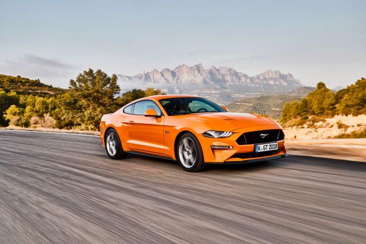Achtzylinder: Der Ford Mustang ist mit 310 kW/421 PS ab 44.000 Euro zu haben