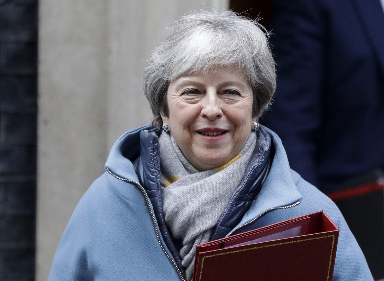 Britische Premierministerin Theresa May
