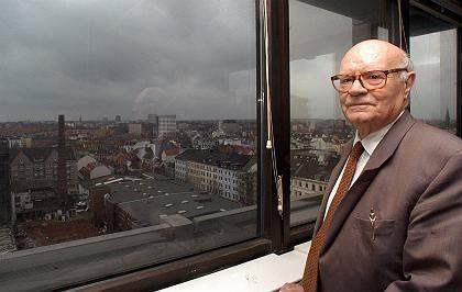 Blick über sein Hamburg: Willi Bartels wurde 92