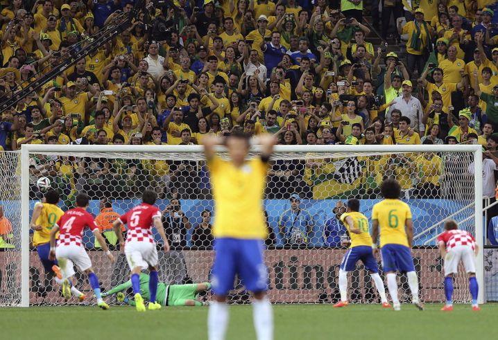 Treffer: Neymar hat getan, was Brasilien von ihm erwartet - ein Tor geschossen