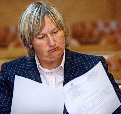 Reichste Frau Russlands: Jelena Baturina, Gattin des Moskauer Bürgermeisters Juri Luschkow