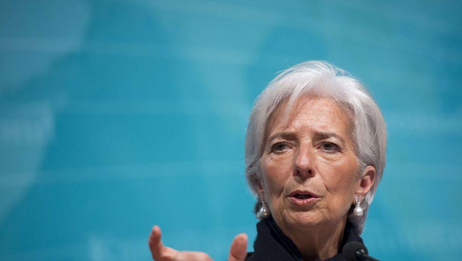 """IWF-Chefin Christine Lagarde: """"Es wird keinen Zahlungsaufschub geben"""""""