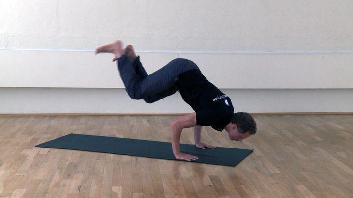 Ashtanga Yoga: Eine gewisse Grundfitness sollte man dafür schon haben
