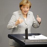Ruft zur Anstrengung auf: Bundeskanzlerin Merkel fordert Kraftakt zur Überwindung der Wirtschaftskrise