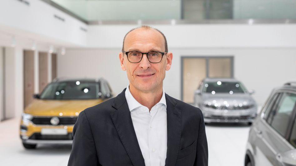 Befördert: Bei VW wird Ralf Brandstätter offiziell zum Markenvorsitzenden befördert