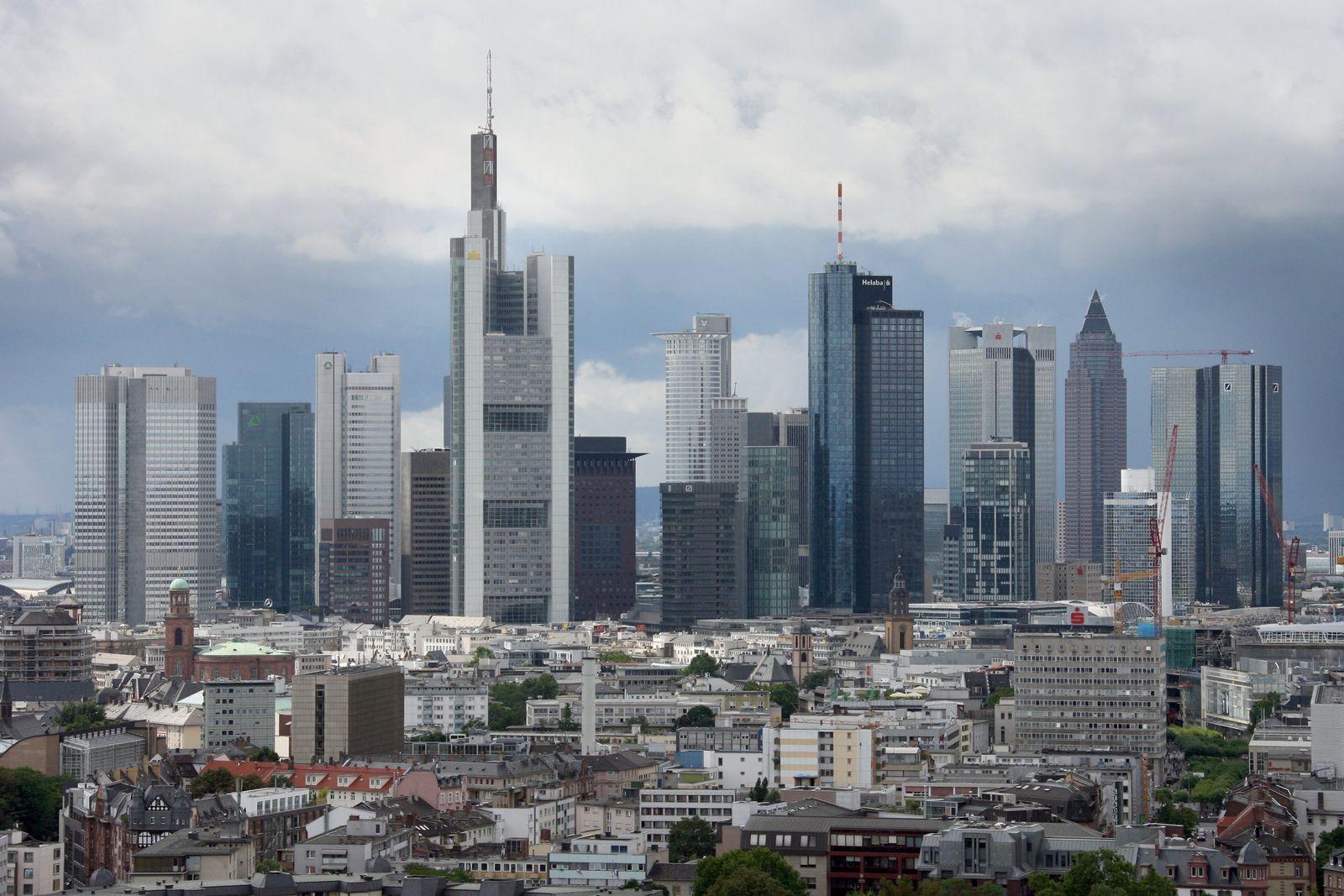 Bankenviertel Frankfurt/ Skyline