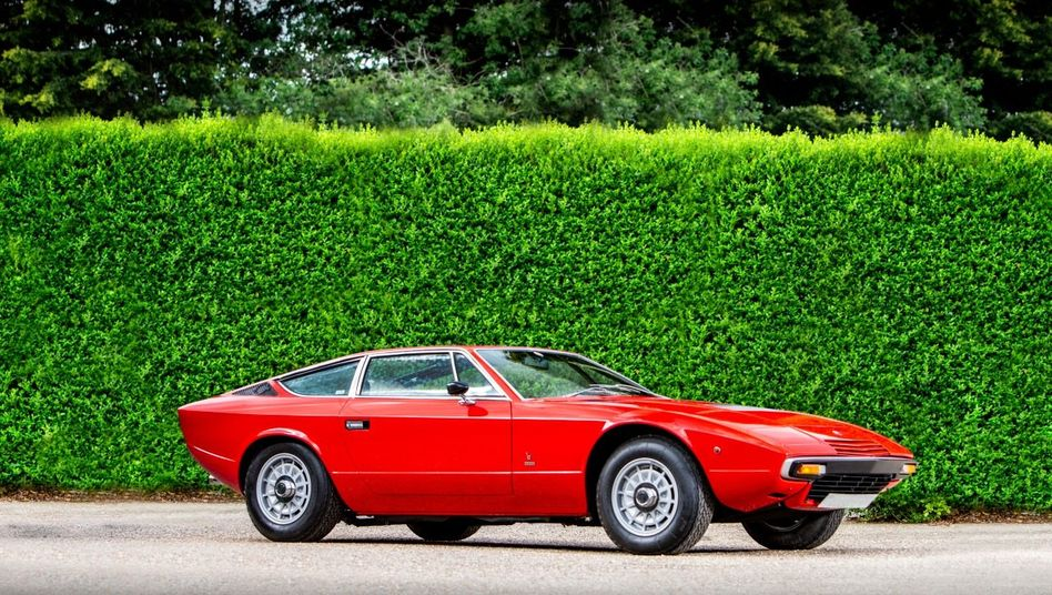 STARTKLAR Der Preis des Maserati Khamsin brach zuletzt ein