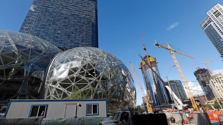 Amazon Hauptquartier in Seattle: New York und Washington sind die Standorte für die beiden weiteren Hauptquartiere