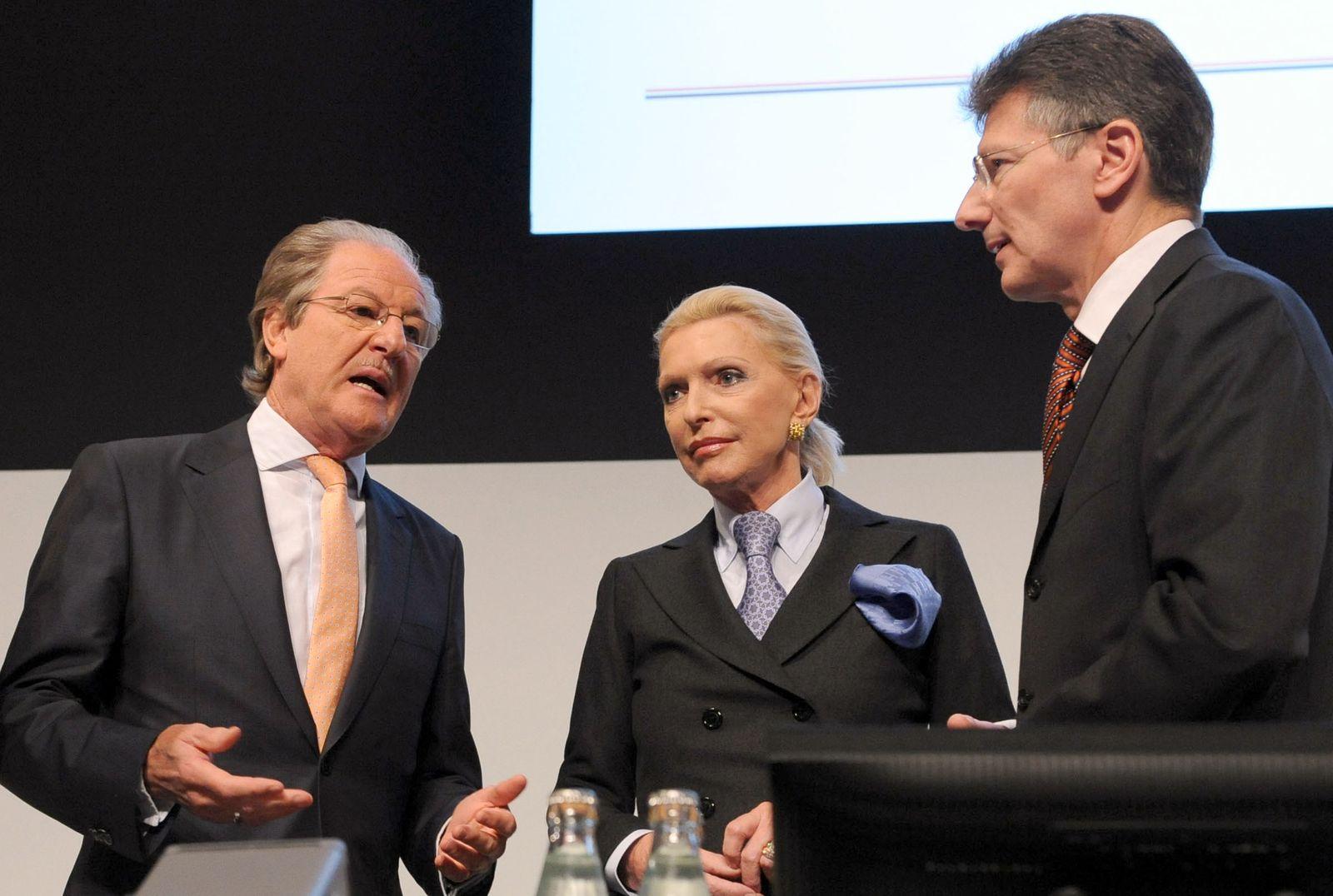 Hauptversammlung Continental AG; Reitzle; Schaeffler; Degenhart