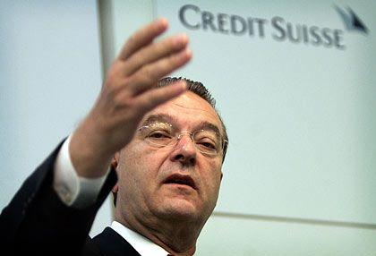 Oswald Grübel: Der Chef des Schweizer Finanzkonzerns sieht für das Bankengeschäft in Asien eine große Zukunft