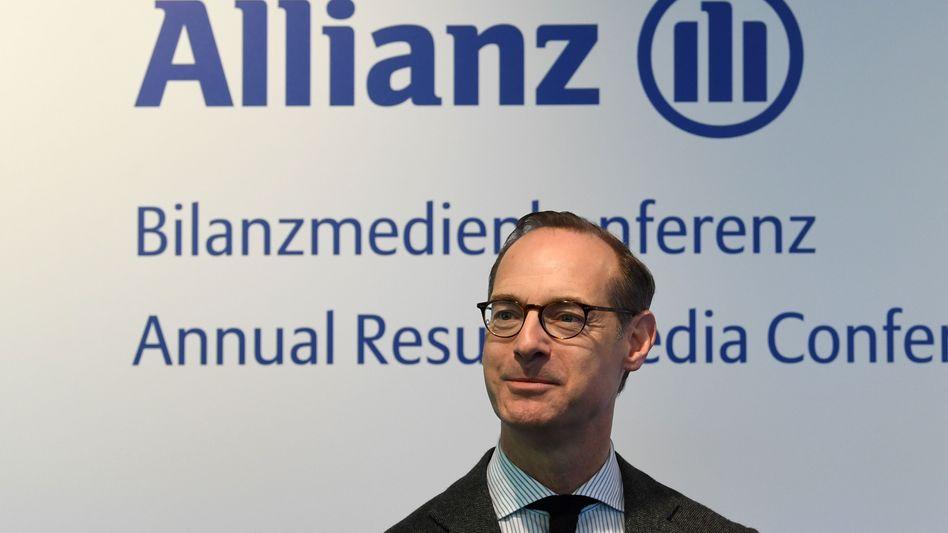 """""""Stabile Geschäftsergebnisse im zweiten Halbjahr"""": Allianz-Chef Oliver Bäte blickt vergleichsweise optimistisch auf den Rest des Jahres"""