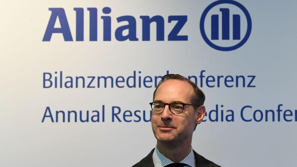 Ärger in Amerika: Allianz-Chef Oliver Bäte.