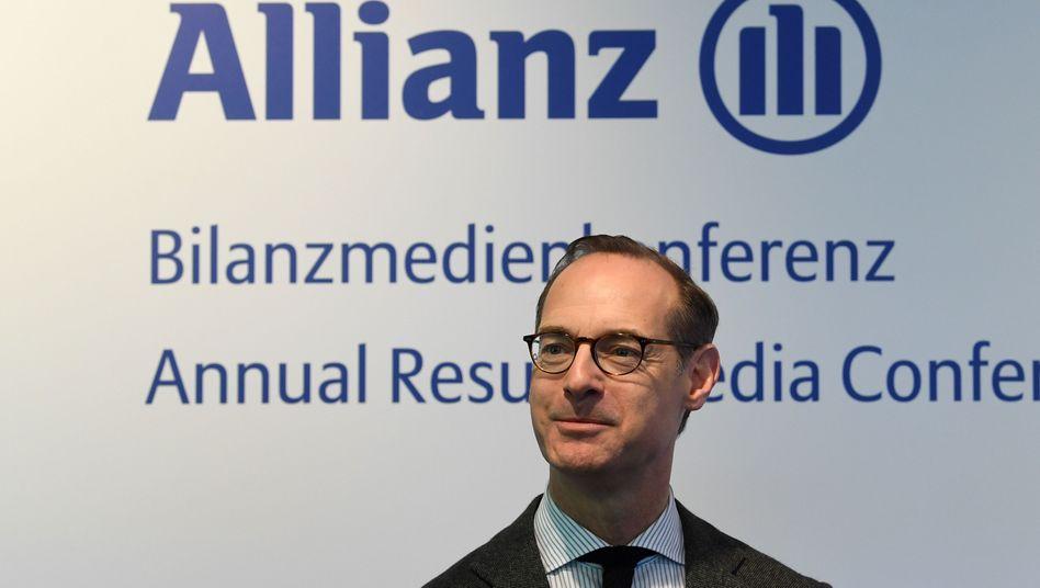 Oliver Bäte: Der Allianz-Chef spricht offen über mögliche Pleiten unter Lebensversicherern