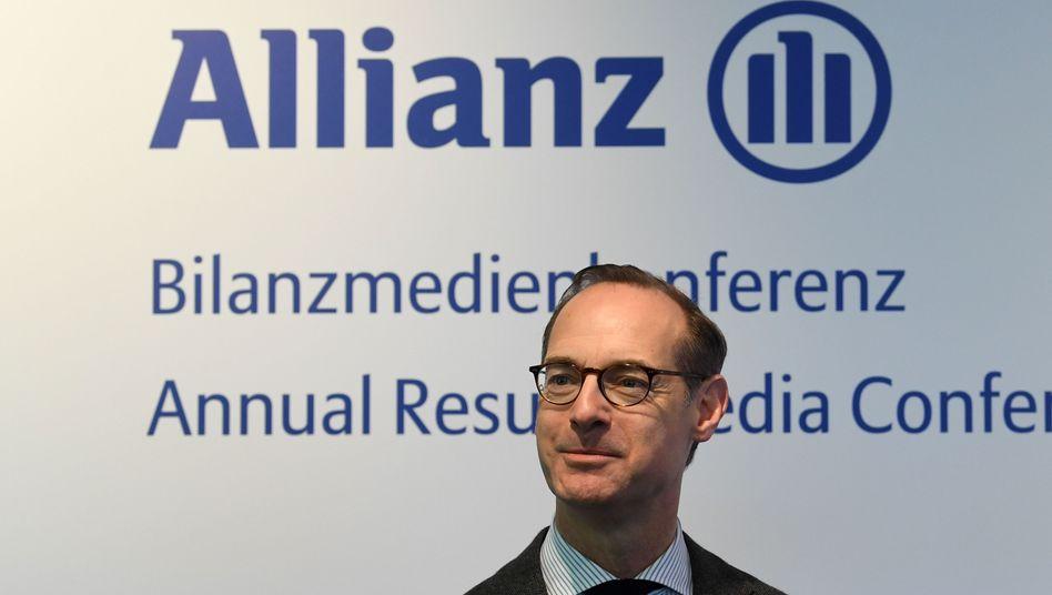 Allianz-Chef Oliver Bäte will sich offenbar vom italienischen Lebensversicherungsgeschäft trennen
