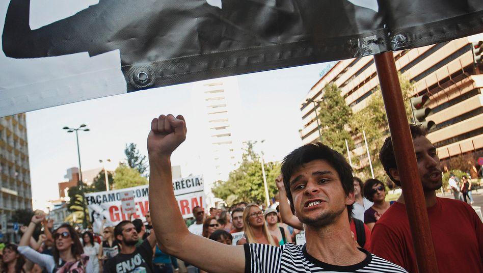 Schwierige Lage: Portugals Bürger in verfahrener Situation