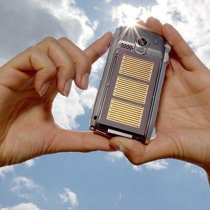 Solarhandy: Gerade für kleine Verbaucher die Sonnenenergie nutzen