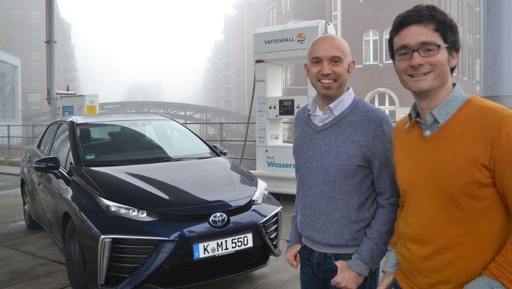 Zwei Tage im Toyota Mirai: Das haben unsere Redakteure bei der Wasserstoff-Expedition erlebt