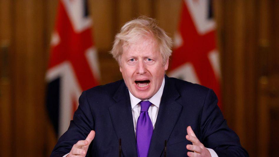 """Mister """"No"""": Großbritanniens Premier Boris Johnson treibt den Nervenkrieg um einen Handelspakt zwischen Großbritannien und der EU auf die Spitze. Diese Woche noch will er nach Brüssel kommen und persönlich verhandeln."""