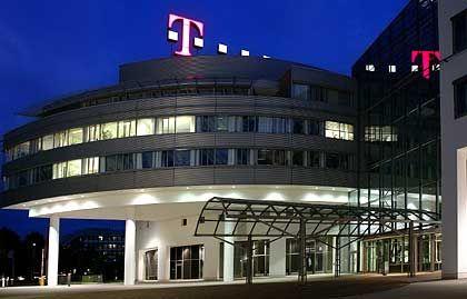 Telekom-Zentrale: Der Konzern ist momentan damit beschäftigt, seine Verwaltung zu verschlanken