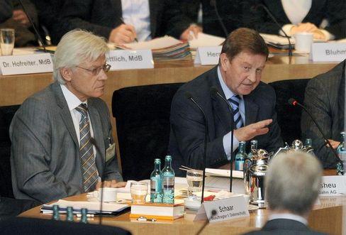 Bleibt auf der Gehaltsliste: Ex-Bahn-Vorstand Otto Wiesheu