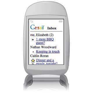 E-Mail für unterwegs: Google hat seine Maildienste schon für das Handy portiert