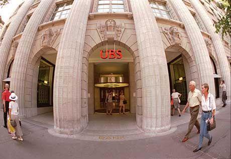 Die Zentrale der UBS in Zürich