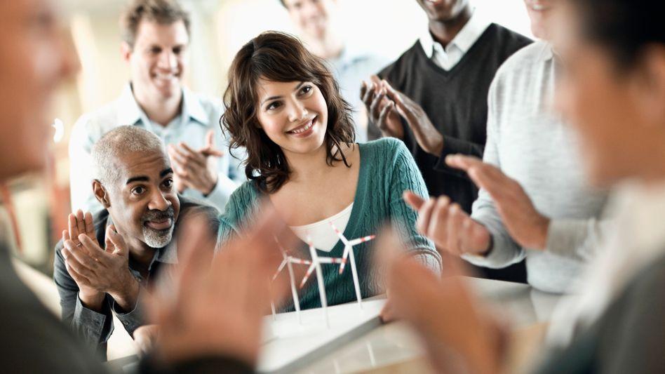 Die beste Motivation: Das Loben der Mitarbeiter sorgt für langfristige Zufriedenheit
