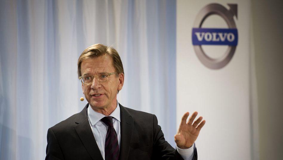Volvo-Chef Håkan Samuelsson: Bestechungs-Untersuchung per Vergleich beendet